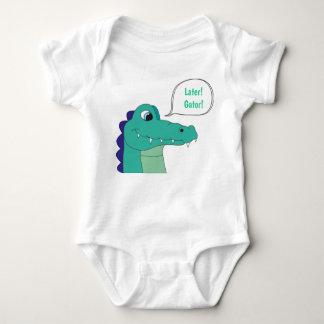 Later! Gator! Baby Bodysuit
