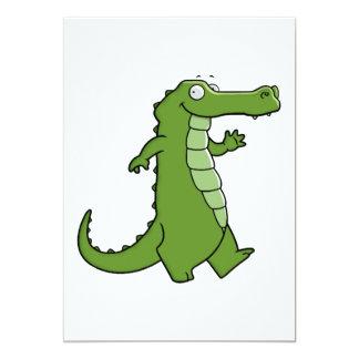 "Later Gator 5"" X 7"" Invitation Card"