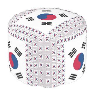 Latest cute South Korea cool National Flag Colors Pouf