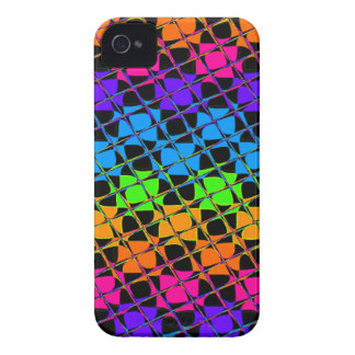 Latest lovely edgy colorful happy reflection desig iPhone 4 cover