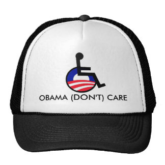latest, OBAMA (DON'T) CARE Hat