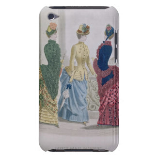 Latest Paris Fashions, three day dresses in a fash Barely There iPod Cover