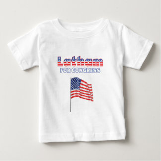 Latham for Congress Patriotic American Flag Baby T-Shirt