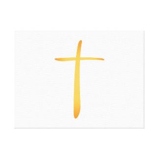 Latin Christian Cross Canvas Prints