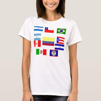 Latin Flags T-Shirt