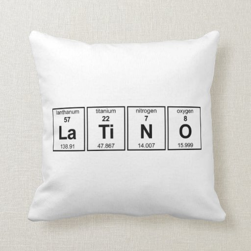 LaTiNO American MoJo Pillow
