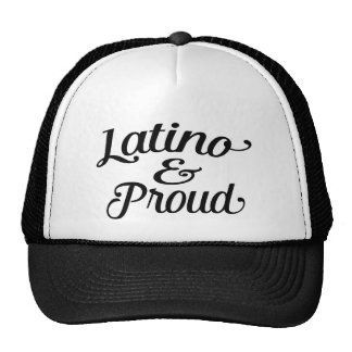 Latino and proud cap