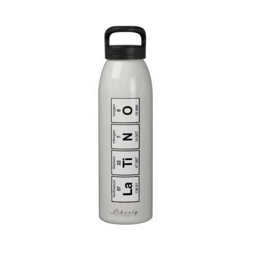 LaTiNO Bottle Reusable Water Bottles