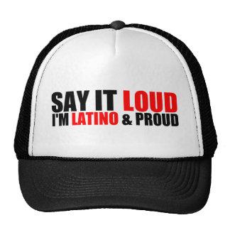 Latino & Proud Cap