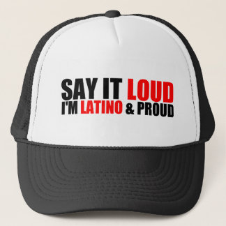 Latino & Proud Trucker Hat