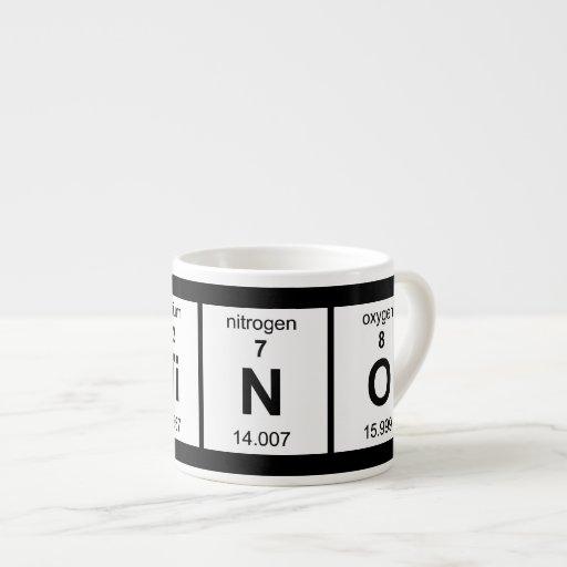 LaTiNO Espresso Mugs