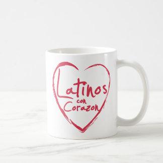 Latinos Con Corazon Mug