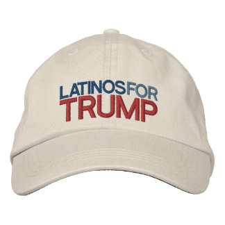 Latinos for Trump Embroidered Hat