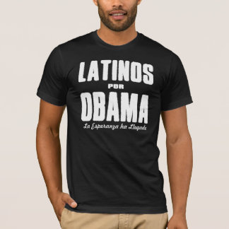 Latinos Por Obama 2 T-Shirt