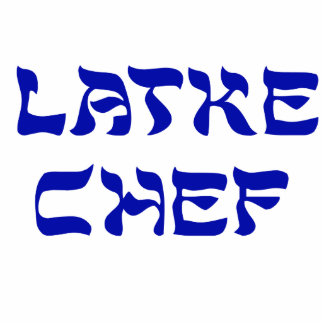 Latke Chef Photo Sculpture Decoration