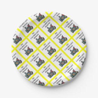 latkes paper plate