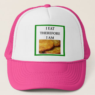 latkes trucker hat