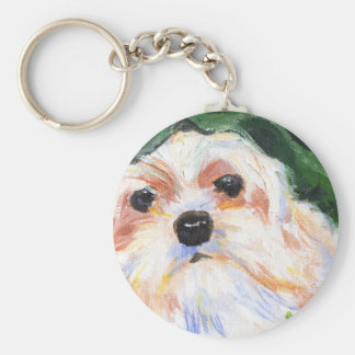 LaTouch's Murphy Basic Round Button Key Ring