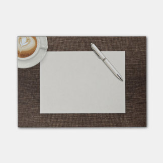 Latte And Notes Post-it® Notes 4 x 3