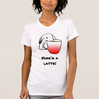 Latte Rabbit!   T-shirt