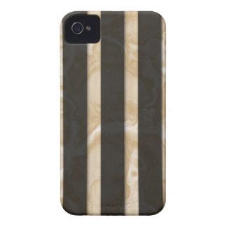 Latte Stripes iPhone 4 Case