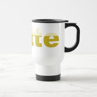 Latte Travel Bold Coffee Mug
