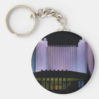 Latter-Day Saints temple in Washington, D.C., U.S. Keychain
