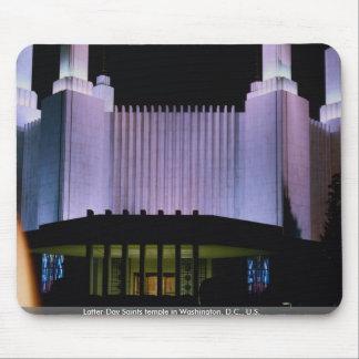 Latter-Day Saints temple in Washington, D.C., U.S. Mousepad