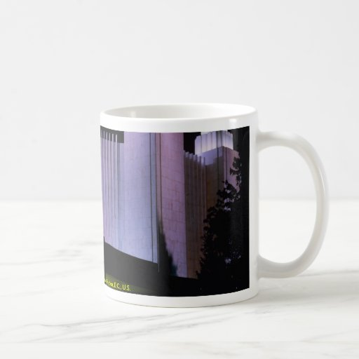 Latter-Day Saints temple in Washington, D.C., U.S. Coffee Mugs