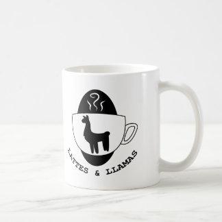 Lattes and Llamas Logo Mug