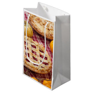 Lattice Cherry Pie And Apple Pie Small Gift Bag