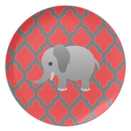 Lattice Elephant Plate
