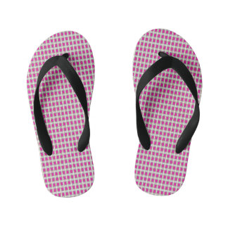 Lattice-Gems-Pink(C)Multi-Styles Kid's Thongs