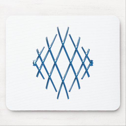 Lattice grid mouse pads