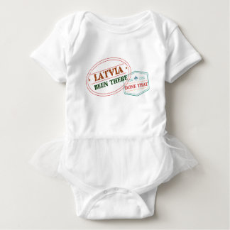 Latvia Been There Done That Baby Bodysuit