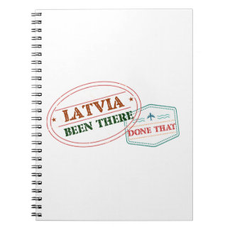 Latvia Been There Done That Notebooks