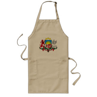 Latvia Coat of Arms Apron