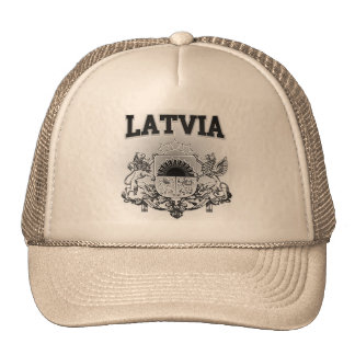 Latvia  Coat of Arms Cap