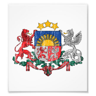 Latvia Coat Of Arms Photo