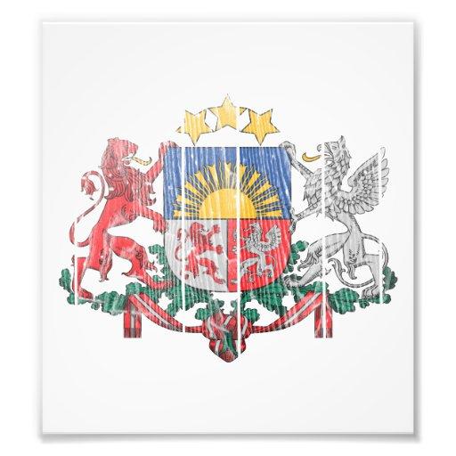 Latvia Coat Of Arms Photo Print