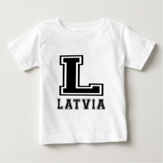 Latvia Designs Baby T-Shirt