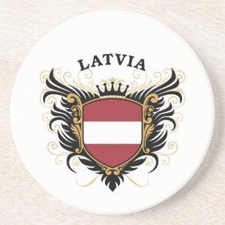 Latvia Drink Coaster