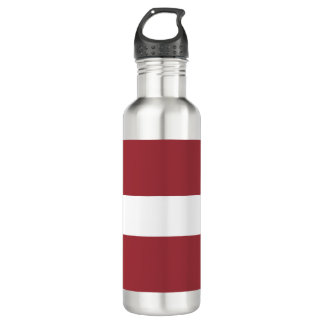 Latvia Flag 710 Ml Water Bottle