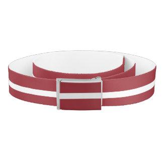 Latvia Flag Belt