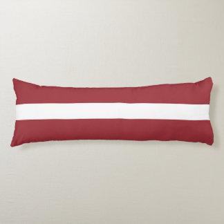 Latvia Flag Body Cushion
