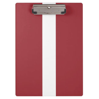 Latvia Flag Clipboard