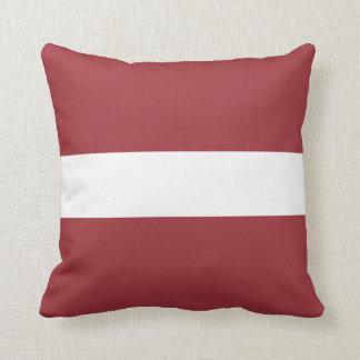 Latvia Flag Cushion