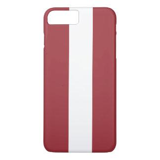 Latvia Flag iPhone 8 Plus/7 Plus Case