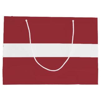 Latvia Flag Large Gift Bag