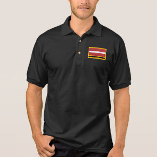 Latvia Flag Polo Shirt